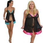 Lucy babydoll pink or blue